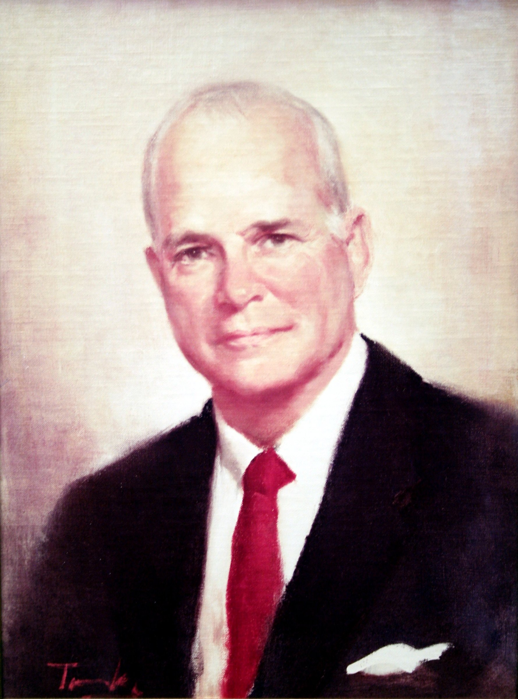 Charles Harrison Mann, Jr. [oil painting]