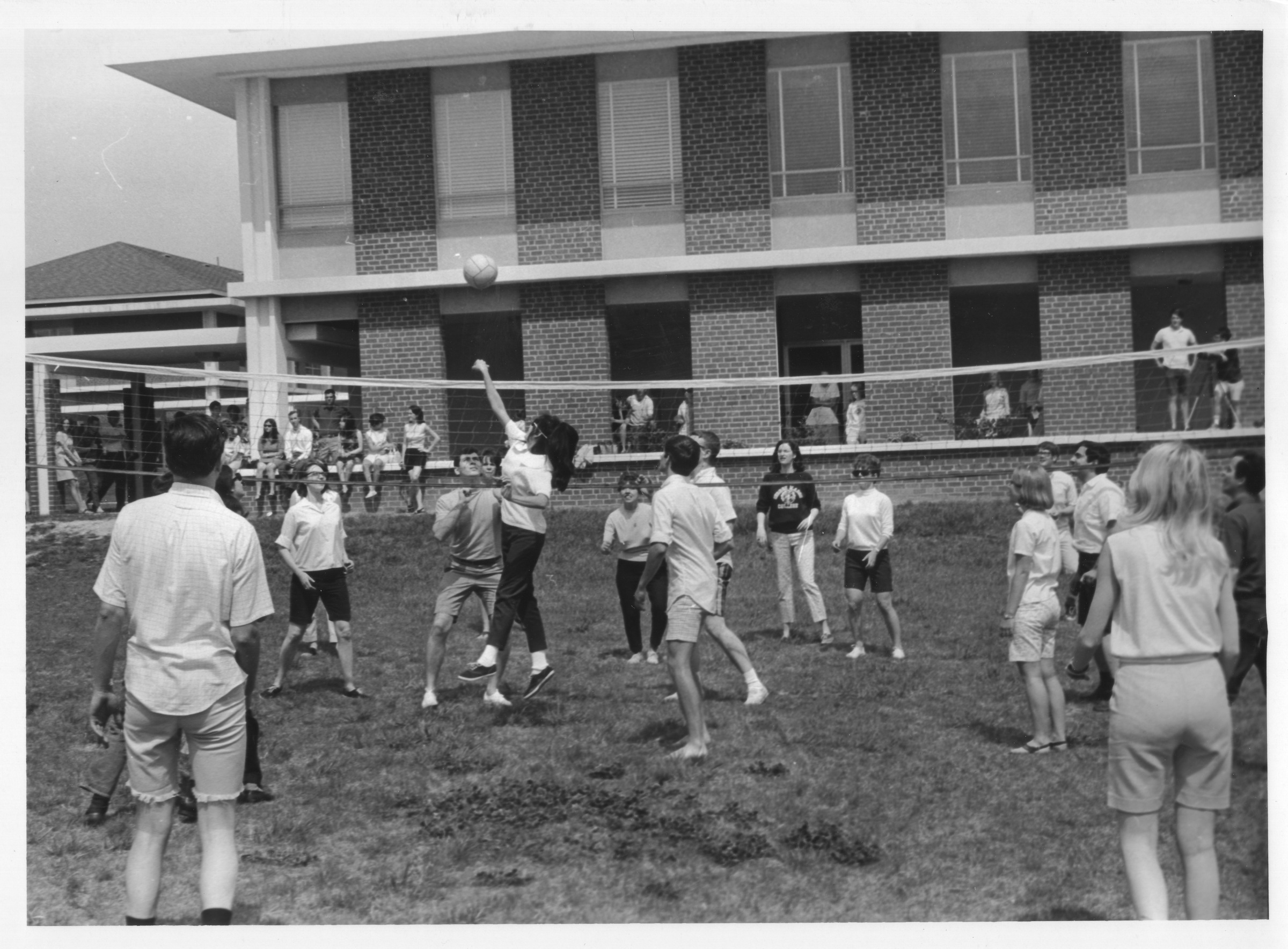 Volleyball, Mason Day, 1968