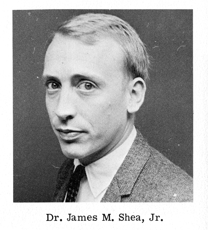 Dr. James M. Shea, Jr., <em>Advocate</em> photograph, 1967