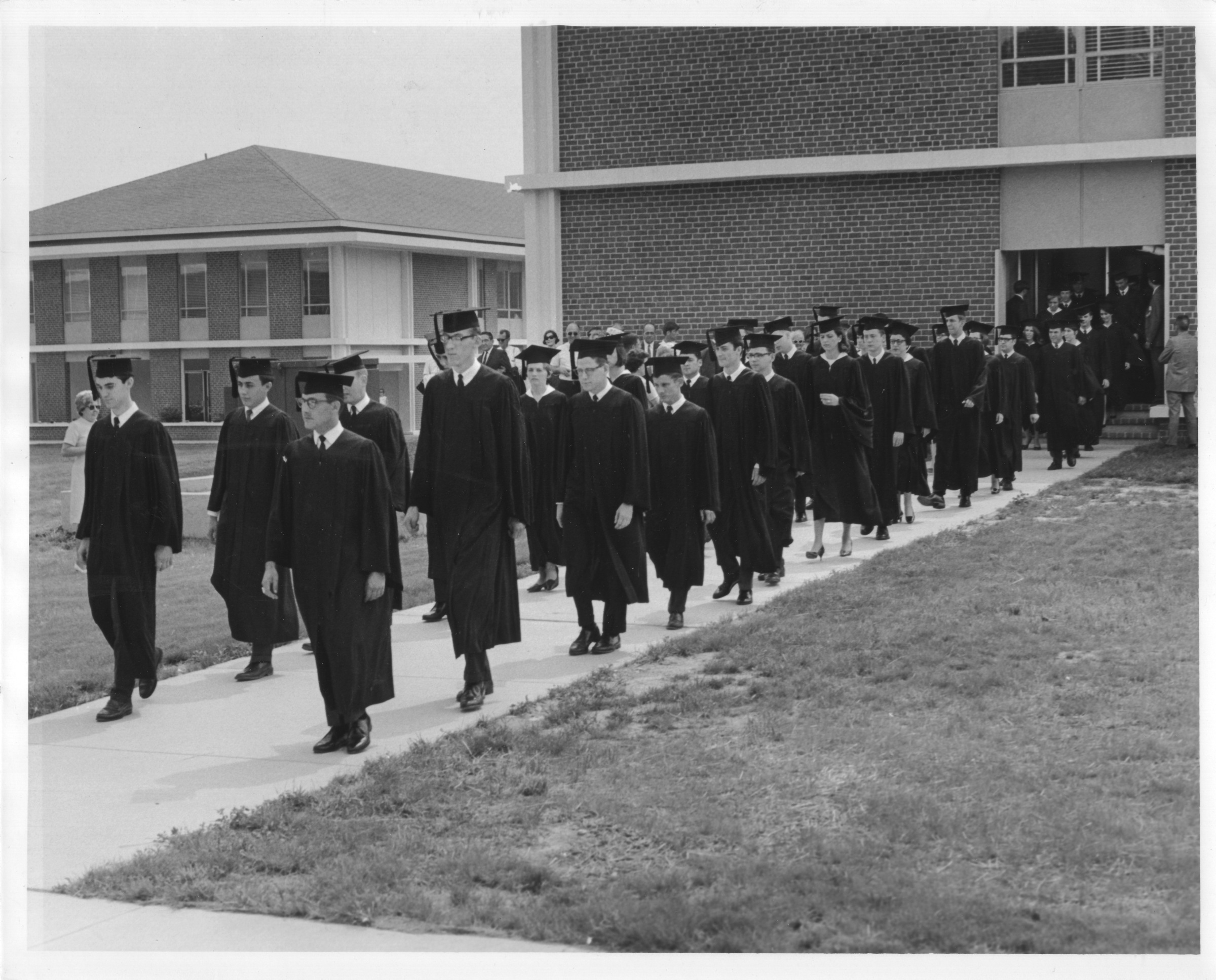 Procession, George Mason College Commencement, June 9, 1968