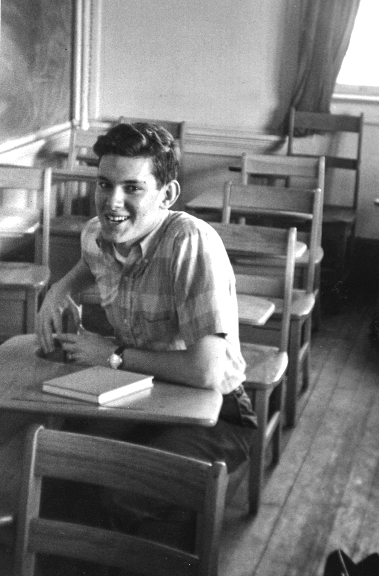 Jerry Grossman in Room 10, 1964.