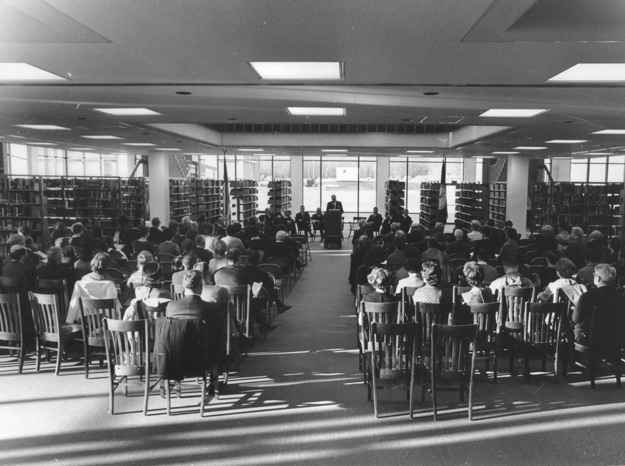 Fenwick Library Dedication, December 15, 1967