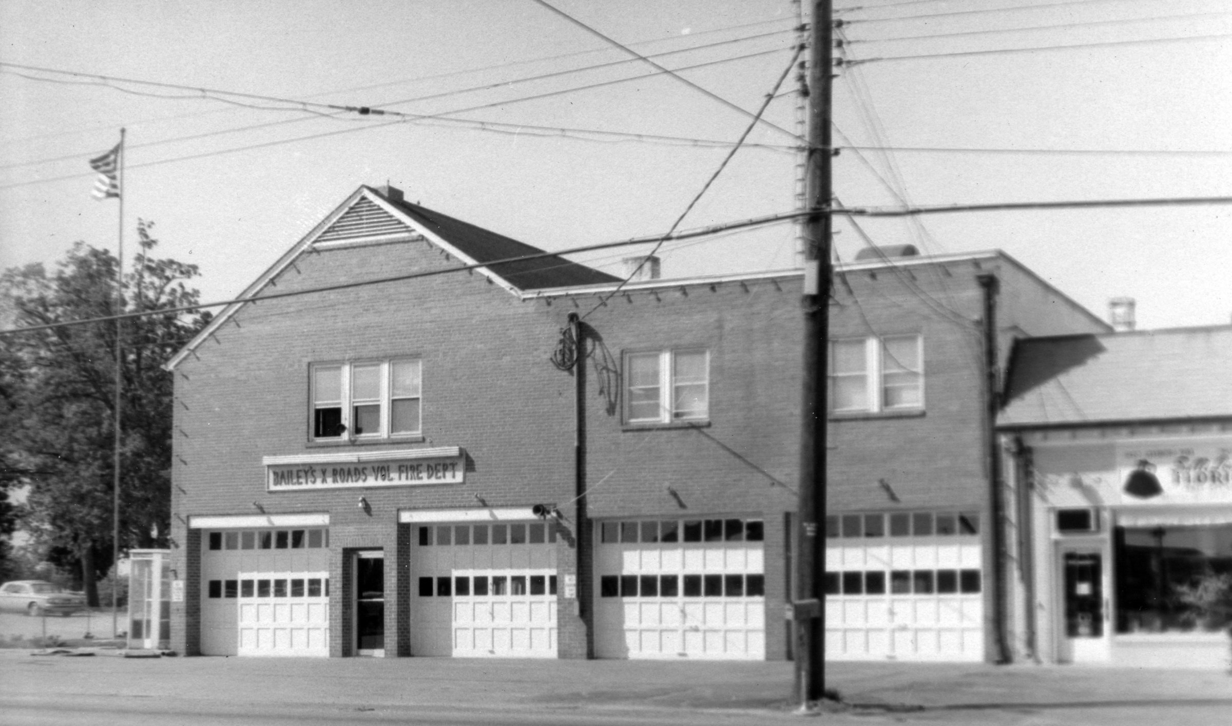 Bailey's Crossroads Volunteer Fire Department, 1964.