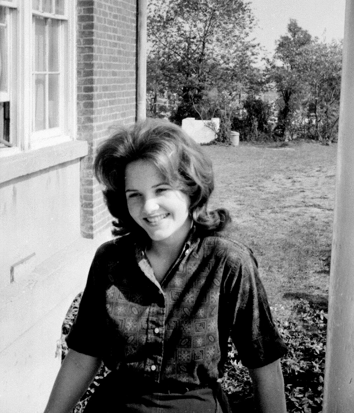 Helen Momsen (Johnson), March 10, 1963, Bailey's Crossroads campus