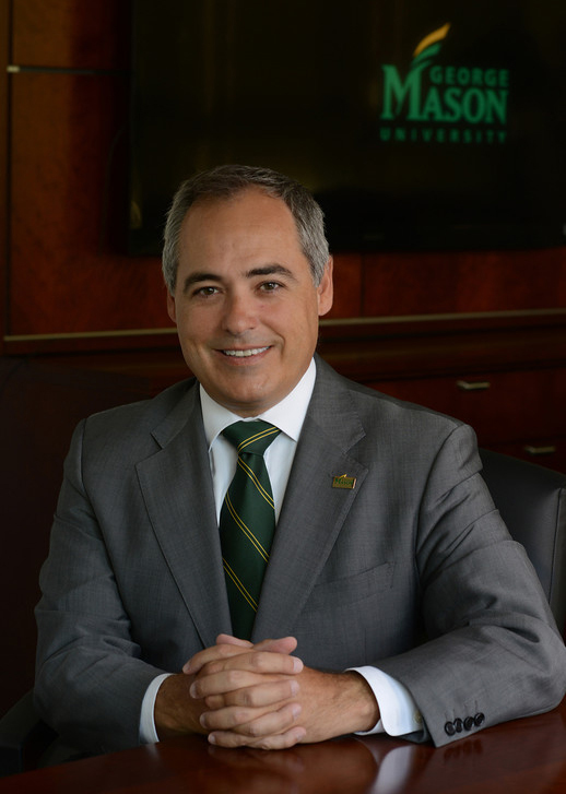 George Mason University president Dr. Ãngel Cabrera, July 2, 2012
