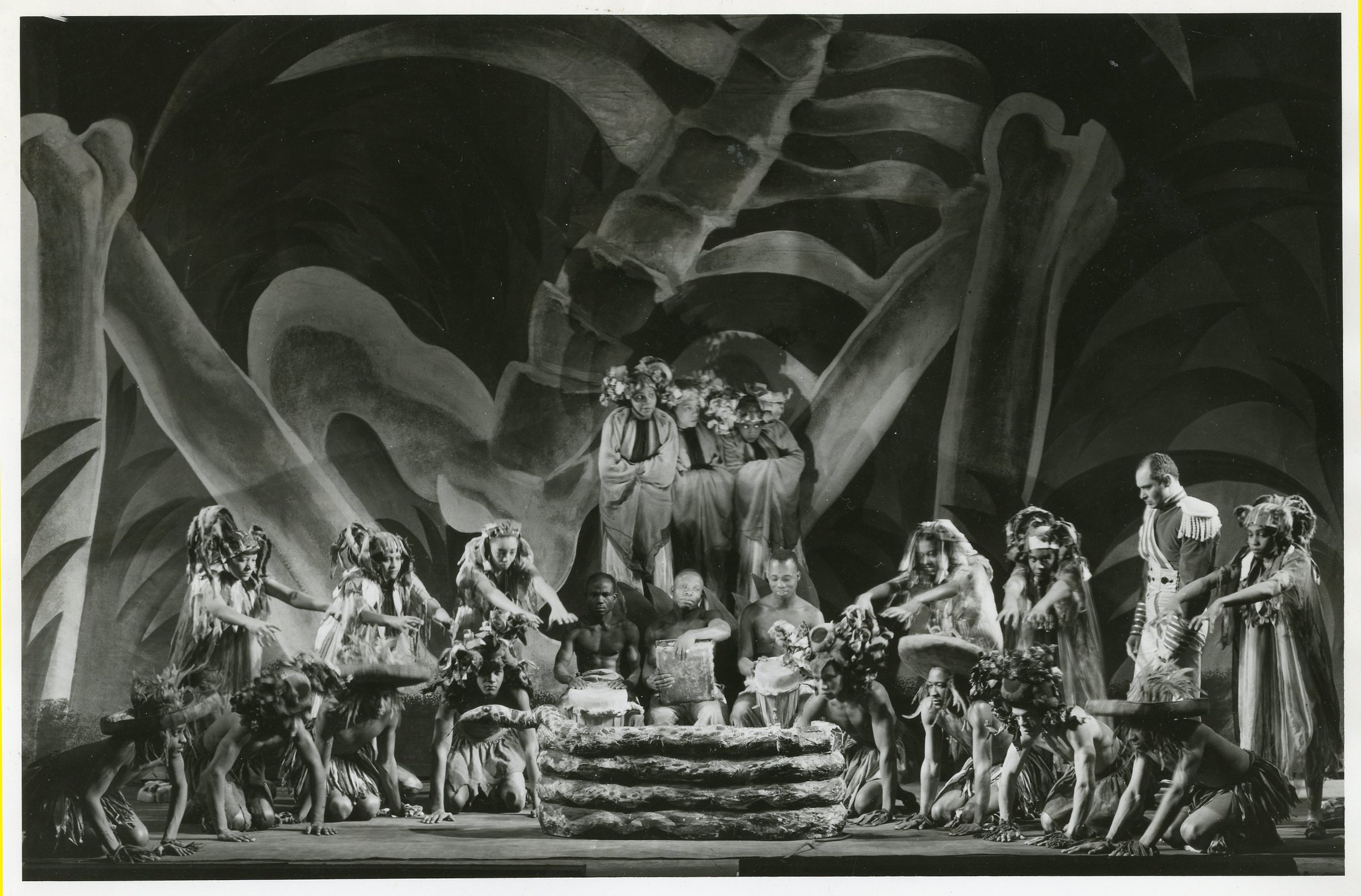 Scene from the Federal Theatre Project production of <em>Macbeth</em>